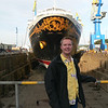 Disney Wonder Dry Dock 2011 : We were in Dry Dock in Victoria BC for 2 weeks fixing, cleaning and changing many things on the ship. It was like living in a construction zone!