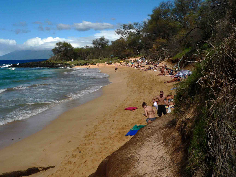 Little Beach, Maui (nude beach). Little Beach, Maui (nude beach)