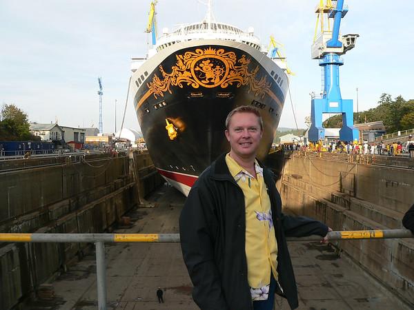 Disney Wonder Dry Dock 2011
